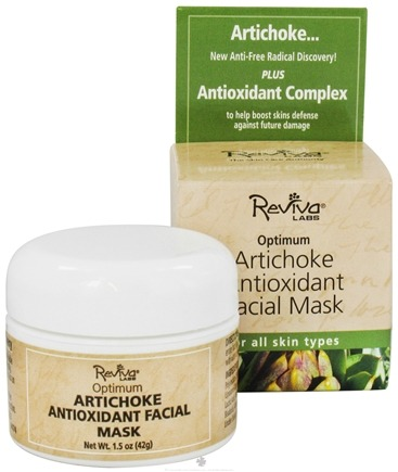 Zoom View - Optimum Antioxidant Facial Mask with Artichoke