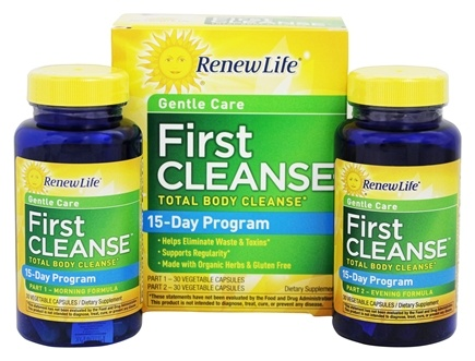 Renew Life - First Cleanse Total Body Cleanse - 60 Capsules