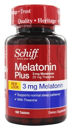 Schiff - Melatonin Plus 3 mg. - 180 Tablets