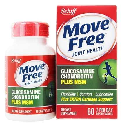 DROPPED: Schiff - Move Free Advanced plus MSM 1500 mg. - 60 Tablets