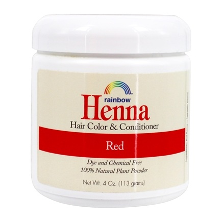 Rainbow Research - Henna Persian Red Hair Color Red - 4 oz.
