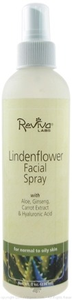 DROPPED: Reviva Labs - Lindenflower Facial Spray - 8 oz. Formerly: Facial Spray Linden