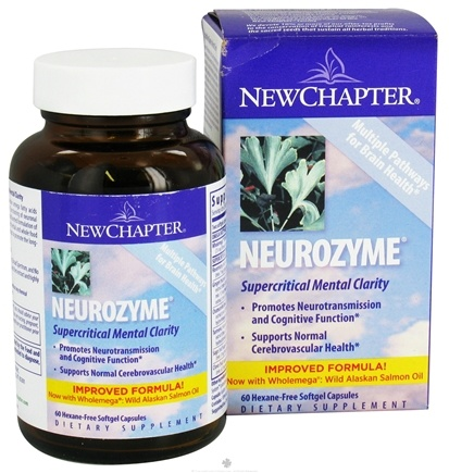 DROPPED: New Chapter - Neurozyme - 60 Softgels