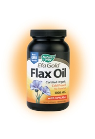 DROPPED: Nature's Way - Flax Oil 1000 mg. - 100 Softgels