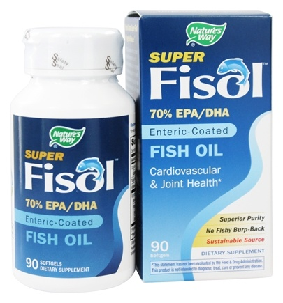 Zoom View - Super Fisol Fish Oil