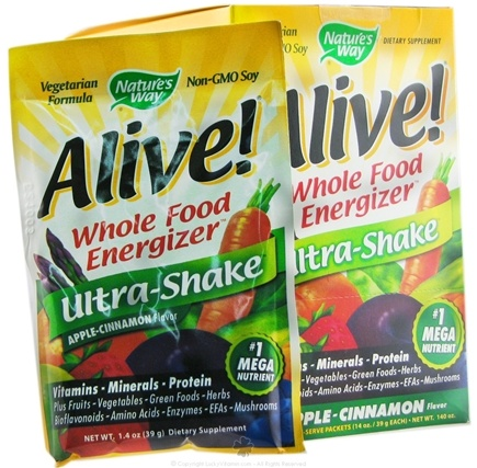 DROPPED: Nature's Way - Alive Soy Ultra-Shake Apple & Cinnamon - 1 Packet(s)