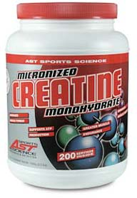DROPPED: AST Sports Science - Creatine Monohydrate - 325 Grams