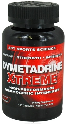 DROPPED: AST Sports Science - Dymetadrine Xtreme Ephedra Free - 100 Capsules CLEARANCE PRICED
