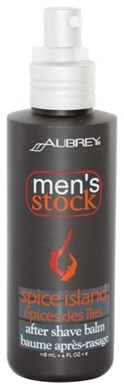 DROPPED: Aubrey Organics - Men's Stock Spice Island After Shave Balm - 4 oz.