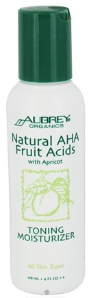 Zoom View - Natural AHA Fruit Acids with Apricot Toning Moisturizer
