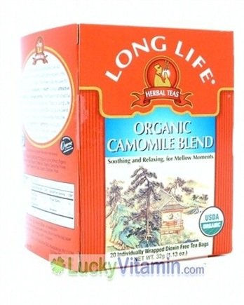 Zoom View - Organic Camomile Blend Herbal Tea
