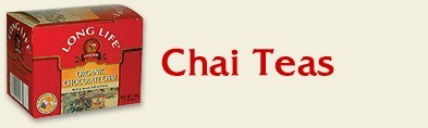 DROPPED: Long Life Teas - Organic Chai Tea - 20 Tea Bags