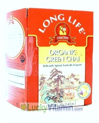 Zoom View - Organic Green Chai Tea