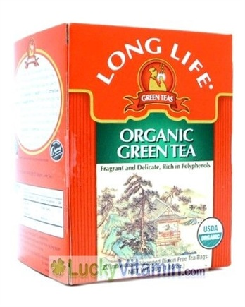 DROPPED: Long Life Teas - Organic Green Tea - 20 Bags CLEARANCE PRICED