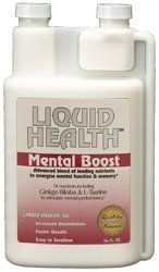 DROPPED: Liquid Health - Mental Boost Liquid Supplement - 8 oz.