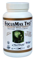 DROPPED: Maxi-Health Research Kosher Vitamins - FocusMax Two - 30 Capsules