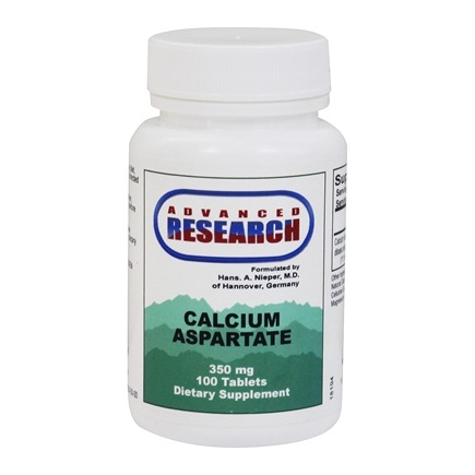 Advanced Research - Calcium Aspartate 350 mg. - 100 Tablets