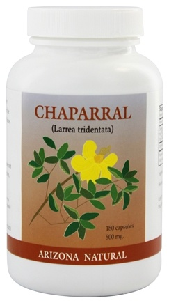 Arizona Natural - Chaparral 500 Mg. - 180 Capsules