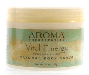 Zoom View - Abra Therapeutics Body Scrubs Jar Vital Energy