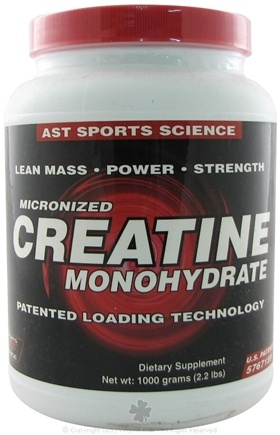 DROPPED: AST Sports Science - Micronized Creatine - 1000 Grams