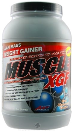 DROPPED: AST Sports Science - Muscle-XGF Lean Mass Weight Gainer Rich Chocolate Flavor - 2.64 Lbs. CLEARANCE PRICED