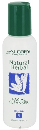 DROPPED: Aubrey Organics - Natural Herbal Facial Cleanser - 4 oz.