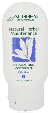 DROPPED: Aubrey Organics - Natural Herbal Maintenance Oil Balancing Moisturizer - 2 oz.