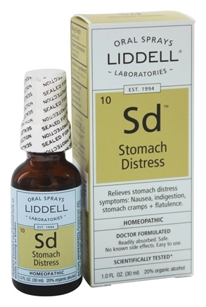 DROPPED: Liddell Laboratories - Stomach Distress Homeopathic Oral Spray - 1 oz.
