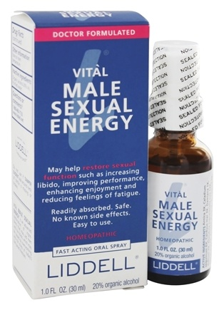 Liddell Laboratories - Vital Male Sexual Energy Homeopathic Oral Spray - 1 oz.
