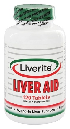 Liverite Products - Liver Aid - 120 Tablets