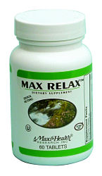 DROPPED: Maxi-Health Research Kosher Vitamins - Kosher Max Relax - 60 Tablets