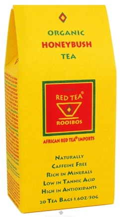 DROPPED: African Red Tea Imports - Honeybush Tea Organic - 20 Tea Bags CLEARANCE PRICED