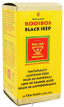 DROPPED: African Red Tea Imports - Red Tea With Black Cumin Seed - Organic - 20 Tea Bags