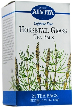 DROPPED: Alvita - Horsetail Grass Caffeine Free - 24 Tea Bags