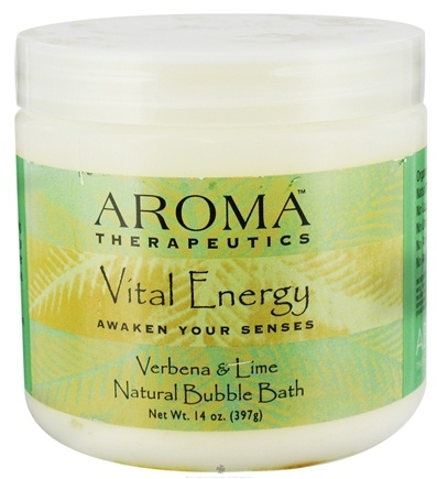Zoom View - Aroma Therapeutics Natural Bubble Bath Vital Energy