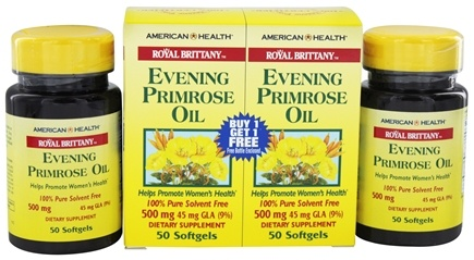 Zoom View - Royal Brittany Evening Primrose Oil (50+50) Twin Pack Special