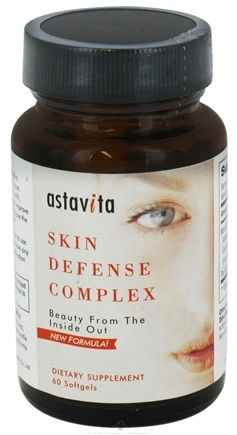 DROPPED: Astavita - Skin Defense Complex - 60 Softgels
