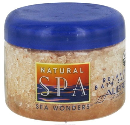 Zoom View - Natural Spa Sea Wonders Relaxing Bath Salts