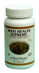 DROPPED: Maxi-Health Research Kosher Vitamins - Maxi Health Supreme - 120 Tablets