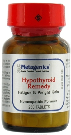 DROPPED: Metagenics - Hypothyroid Remedy - 250 Tablets Formerly HP 26