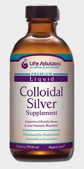 DROPPED: Life Solutions - Liquid Colloidal Silver Supplement 250 Ppm - 1 ml.