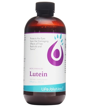 Life Solutions - Liquid Lutein Eye Health - 8 oz.