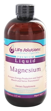 Life Solutions - Liquid Magnesium - 8 oz.