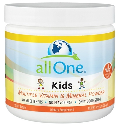 DROPPED: All One - Kids Multiple Vitamin & Mineral Powder - 7.95 oz. CLEARANCE PRICED