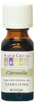 DROPPED: Aura Cacia - Essential Oil Protecting Citronella Java - 0.5 oz. CLEARANCE PRICED