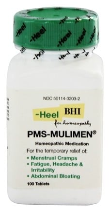 DROPPED: BHI/Heel - PMS Mulimen - 100 Tablets CLEARANCE PRICED