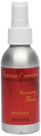 DROPPED: Aura Cacia - Precious Essentials Aromatherapy Spritz Renewing Rose - 4 oz. CLEARANCE PRICED