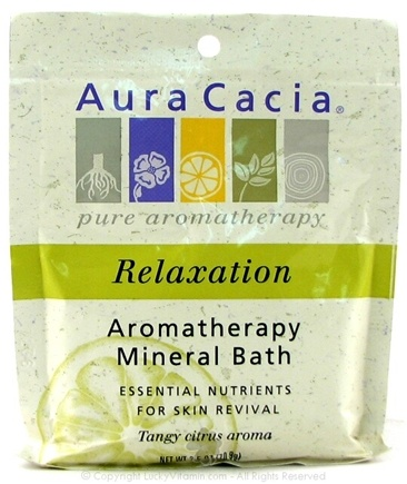 DROPPED: Aura Cacia - Aromatherapy Mineral Bath Relaxation - 2.5 oz. CLEARANCE PRICED