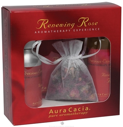 Zoom View - Renewing Rose Aromatherapy Experience Gift Set