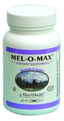 DROPPED: Maxi-Health Research Kosher Vitamins - Mel-O-Max - 60 Capsules